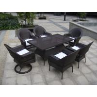 Quality Dining Room Black Chair Set , Beach / Pool / Bar Furniture