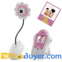 Wholesale Mini Wireless Baby Monitor (Flower Design, Night Vision, AV OUT) from china suppliers