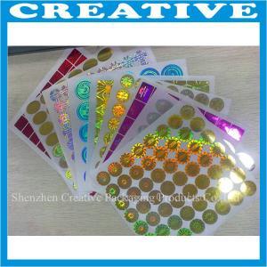 Wholesale 3D hologram laser sticker custom logo hologpraphic label from china suppliers