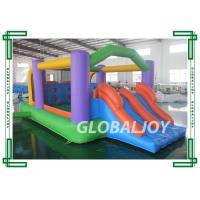 Wholesale PVC Tarpaulin Outdoor Mini Adorable Inflatable Bounce House With Slide from china suppliers