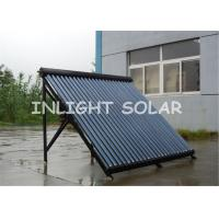 Wholesale 45 Degree Frame Heat Pipe Solar Water Heater With Stainless Bolts , Plastic Tube Holder from china suppliers