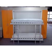 Wholesale Wooden bedroom fold away wall beds bunk , E1 Grade Material White Color from china suppliers