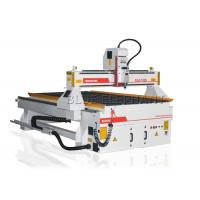 Wholesale HIWIN / PMI Linear Rail Computerized Wood Cutting Machine , Wood Etching Machine Welded Structure from china suppliers