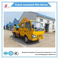 Buy cheap 2017 NJJ5070TQX5 Highway Truck-mounted Guardrail Installation Machine Post Driver for sale from wholesalers