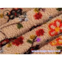 Wholesale Hot sell weft knitting printed velveteen/shu velvet for pajamas fabric and apparel from china suppliers