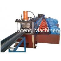 Wholesale 6 - 10m / Min Highway Guardrail Roll Forming Machine , Sheet Metal Working Machines With Hydraulic Punching from china suppliers