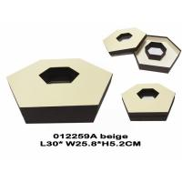 Wholesale Elegant Round / Hexagonal Chocolate Packing Boxes Customized SGS Certification from china suppliers