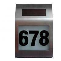 Wholesale solar house number sign light from china suppliers