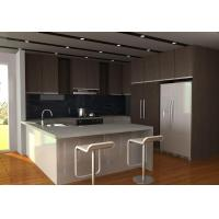 Wholesale MDF with Melamine Kitchen Cabinet, Hk-M01 from china suppliers