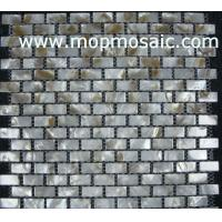 Wholesale Natural shell mosaic backing on mesh from china suppliers