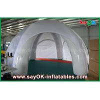 Wholesale White Waterproof Inflatable Air Tent Customized PVC Inflatable Dome Tent For Event from china suppliers