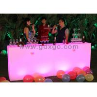 Wholesale LED Outdoor Furniture Table , 16 Colors Lighting Events Table from china suppliers