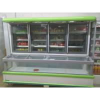Wholesale Supermarket Combination Freezer Cooler / Frozen Display Showcase For Hotel from china suppliers