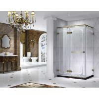 Wholesale Semi Frameless Rectangle Shower Enclosure With Pivot Door, AB 6231-2 from china suppliers