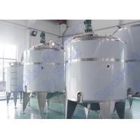 Wholesale Blending Liquid Storage Tank mixing Juice Processing Equipment / System from china suppliers