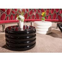 Wholesale Fashionable Black Modern Wood Coffee Table With Mirror Diamond Decoration from china suppliers