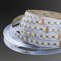 Wholesale 72LEDs/m and 84LEDs/m 5050 SMD RGB+White color(CRI80+ and 20-25lm/LED) LED Strip Light from china suppliers