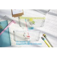 China Personalized Neoprene Pencil Case, Neoprene Pencil Bag, Zipper Transparant PVC Pencil Bag, Printed photo frame PVC zippe on sale