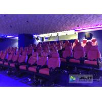 Wholesale Electric Motion 5D Cinema Equipment For Excitement , Feel Movements In 5D Cinema Seats from china suppliers