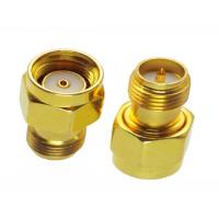 Wholesale Gold Plating RF Coaxial Connector SMA Male to Female Adapter 50 Ohm 1.9 VSWR from china suppliers