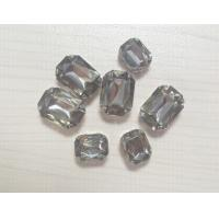 Wholesale Sew on rhinestone button, acrylic, size 8*10mm, 10*14mm from china suppliers