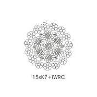 Wholesale IWRC Core Compacted Wire Rope 15 x K7 with Galvanized  Surface from china suppliers