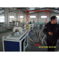 Wholesale Single Screw HDPE Plastic Pipe Extrusion Line 220v / 380v High Twist Torque from china suppliers