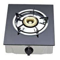 Wholesale Table Top Single Burner Gas Stove With Tempered Glass Panel For Kitchen from china suppliers