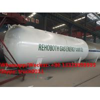 Buy cheap 2018s best price 45m3 surface propane gas storage tanks, bulk lpg gas storage tank customized for Lagos, Nigeria from wholesalers