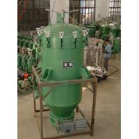 Wholesale Precision Filtration Vertical Leaf Filter , Stainless Steel  Vertical Pressure Filter from china suppliers