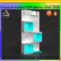 Wholesale Commercial Use Acrylic floor Shoe Display stand Shoe Display shelf from china suppliers