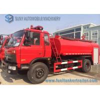 Wholesale 8000 L - 10000 L Double Function Water Tank Fire Truck 3 Axles 160HP from china suppliers