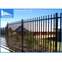 Wholesale Powder Painted Security Mesh Panels , Q235 Welded Wire Panels For Boundary Wall from china suppliers