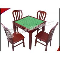 Wholesale Wooden Square Marked Playing Cards Perspective Table With Hidden Camera from china suppliers