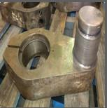 Wholesale CNC machined Turned Machining Turning Forged Forging Laser Clad Cladding hardfacing worn stub shaft Gearbox Crank Arm from china suppliers