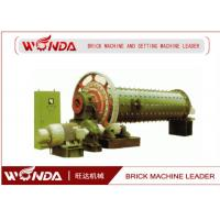 China JR139-8 AAC Block Equipment Fly Ash Lime Ball Mill 28 R/ Min Rotating Speed on sale