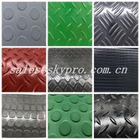 Wholesale Wear Resistant PVC Vinyl Plastic Sheet , Wear Resistant Laminated Car Floor Mats from china suppliers