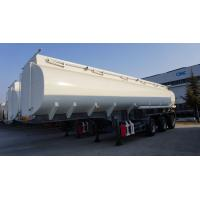 Wholesale 3 axle Stainless steel palm oil tanker fuel tank trailer for sale from china suppliers
