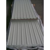 Wholesale Prepainted Corrugated Steel Roofing Sheets 900mm for Protection Wall Fence from china suppliers