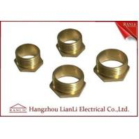 Wholesale 20mm 25mm Brass Male Bush Short & Long For Gi Conduit Thread BS4568 from china suppliers