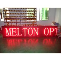Wholesale Red High Brightness Outdoor Single Color led Display P10 , Digital Scrolling Sign from china suppliers