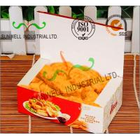 Wholesale Coated Paper Display Foldable Cardboard Boxes For Fried Food Products Packaging from china suppliers