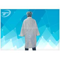 Wholesale Non - Woven Lab Cloth Surgical Gowns With Velcro Fastening Soft And Breathable from china suppliers