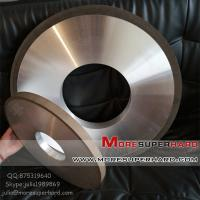 Quality Resin Diamond Grinding Wheel For Thermal Spraying Alloy Materials-julia@moresuperhard.com for sale