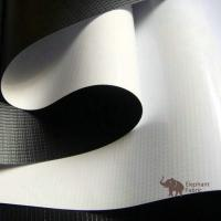 Wholesale Soft White / Black 0.40mm Woven Polypropylene Roll Layer Matte Surface from china suppliers