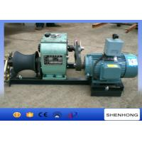 Wholesale 3 Ton Electric Cable Pulling Winch For Underground Cable Installation Project from china suppliers