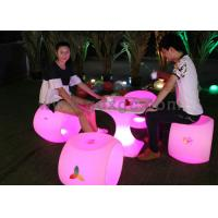 Wholesale New arrive LED lighted up plastic cute stool with 16 colors from china suppliers