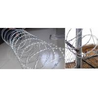 Wholesale Decorative Patterns  PVC Coated Razor Barbed Wire.Fencing Wire Mesh from china suppliers