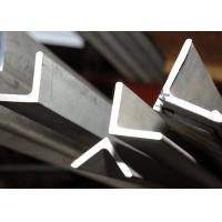 Wholesale Anti - Fingerprint 430 Stainless Angle Iron , Durable Brushed Stainless Steel Angle from china suppliers