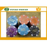Wholesale Factory hot selling  Good quality plastic poker chip with numbers from china suppliers